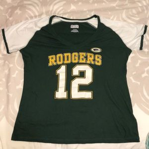 Official Aaron Rodgers Green Bay Packers womens